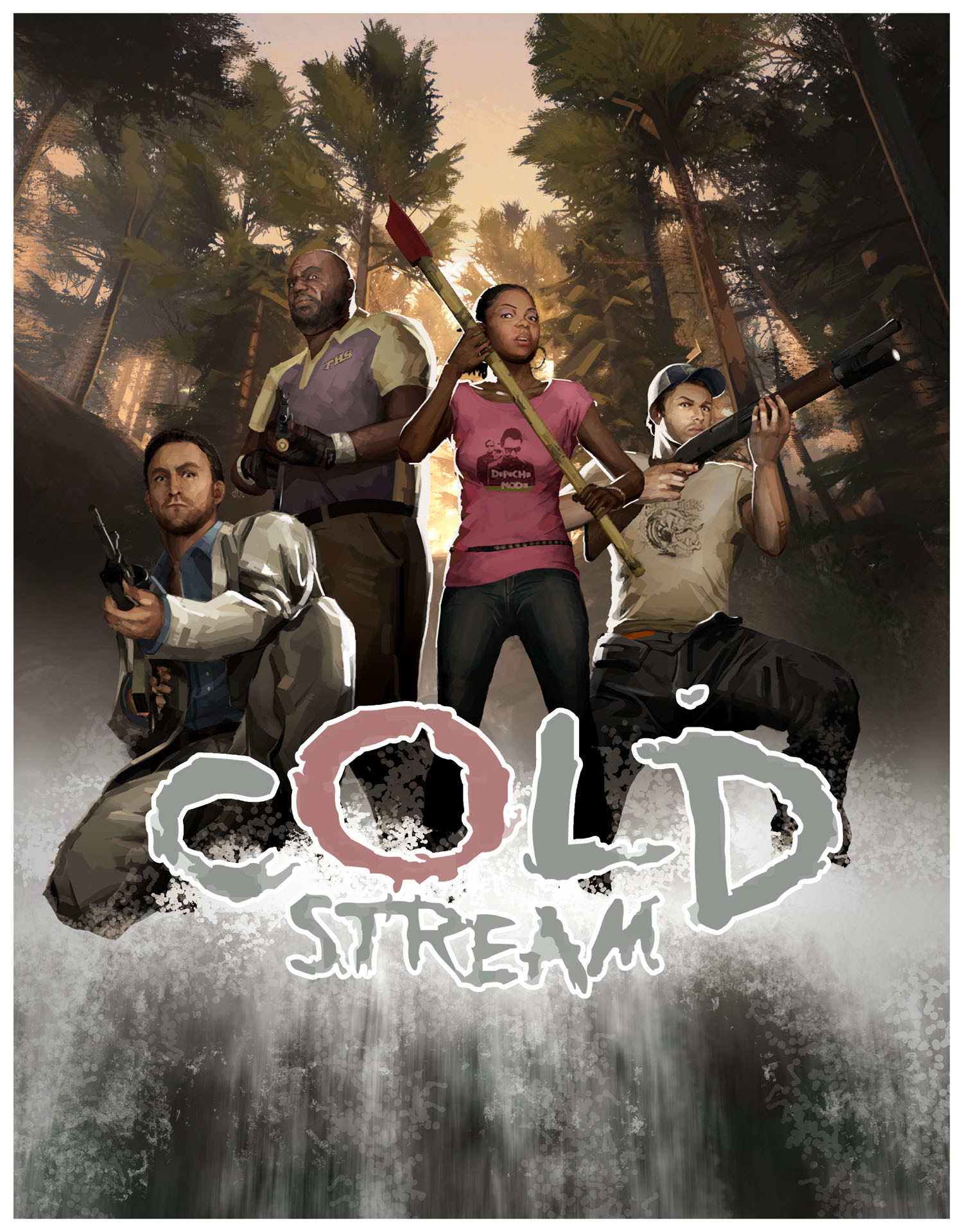 Cold Stream Poster - WIP by Urser