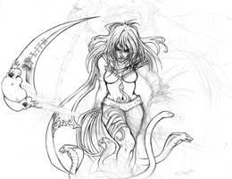 lilith sketch by youffy