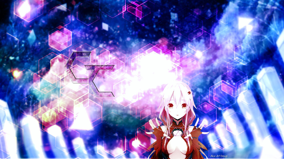 Guilty Crown Inori Yuzuriha by Akw-Art-Design
