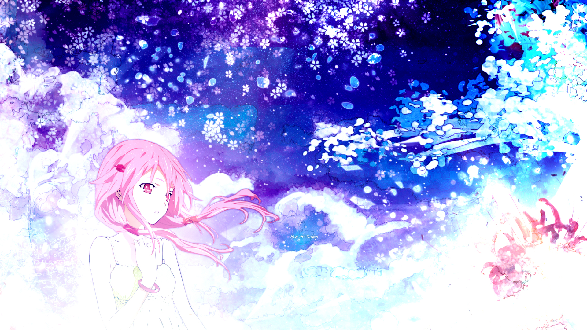 Guilty Crown Wallpaper Inori: Guilty Crown Inori By Akw-Art-Design On DeviantArt
