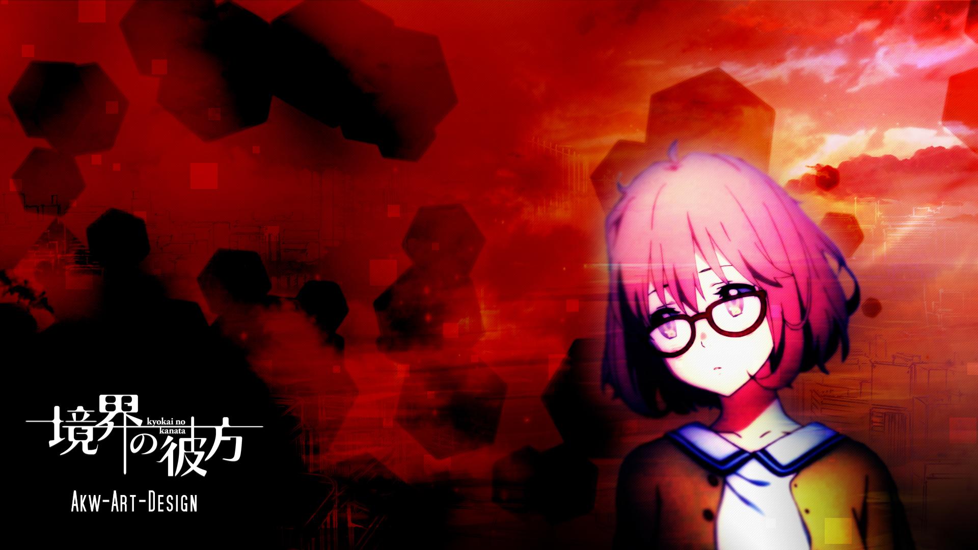 ~Wallpaper Anime~ Kyoukai_no_kanata_kuriyama_mirai_by_akw_art_design-d6s0mwy
