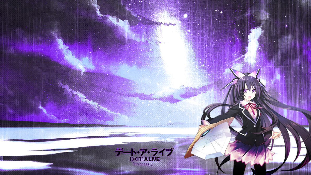 Date A Live Tohka Yatogami by Akw-Art-Design on DeviantArt Date A Live Tohka Wallpaper