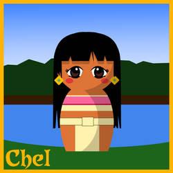 Chel Doll - El Dorado by hallatt