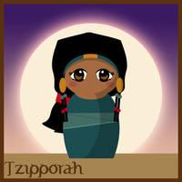 Tzipporah Doll - Prince Egypt by hallatt