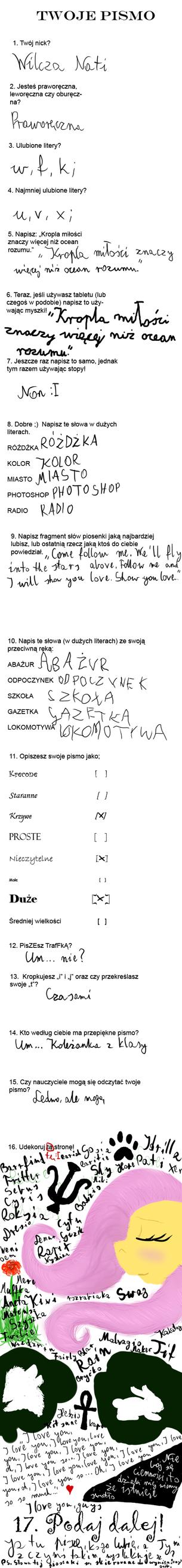 Twoje pismo by WilczaLupus