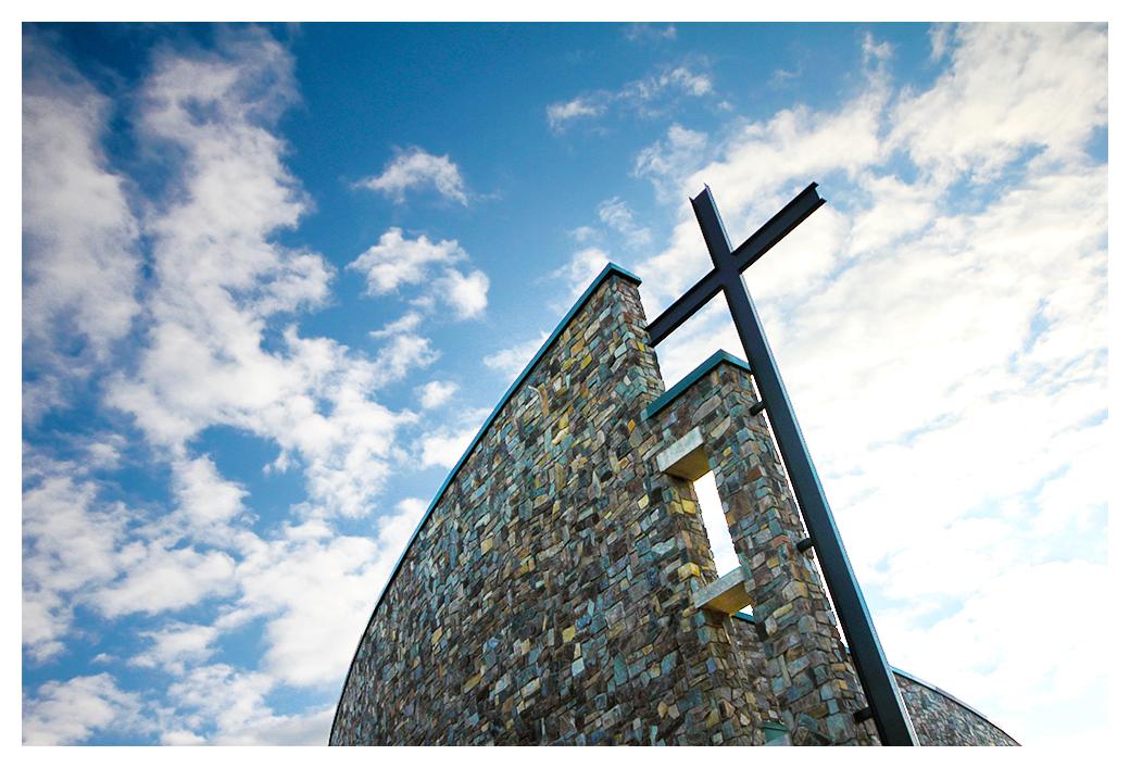 Kroc Church - Blue Skies by banjoeskimo