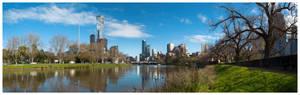Melbourne Spring 2016 Panorama