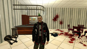 punk guy by salomandr