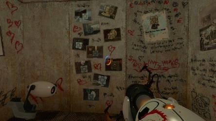 Portal Ratman wall 3 by salomandr
