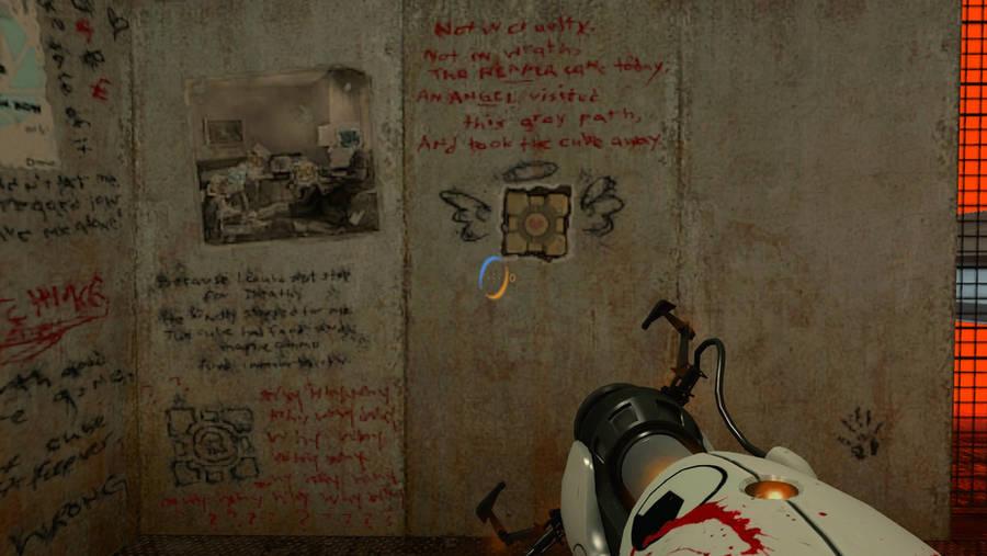 Portal Ratman wall 4 by salomandr