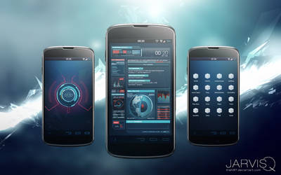 Ironman JARVISQ Theme for Android