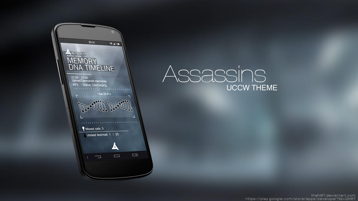 Assassin's Creed - Abstergo Theme (Android) by theNBT