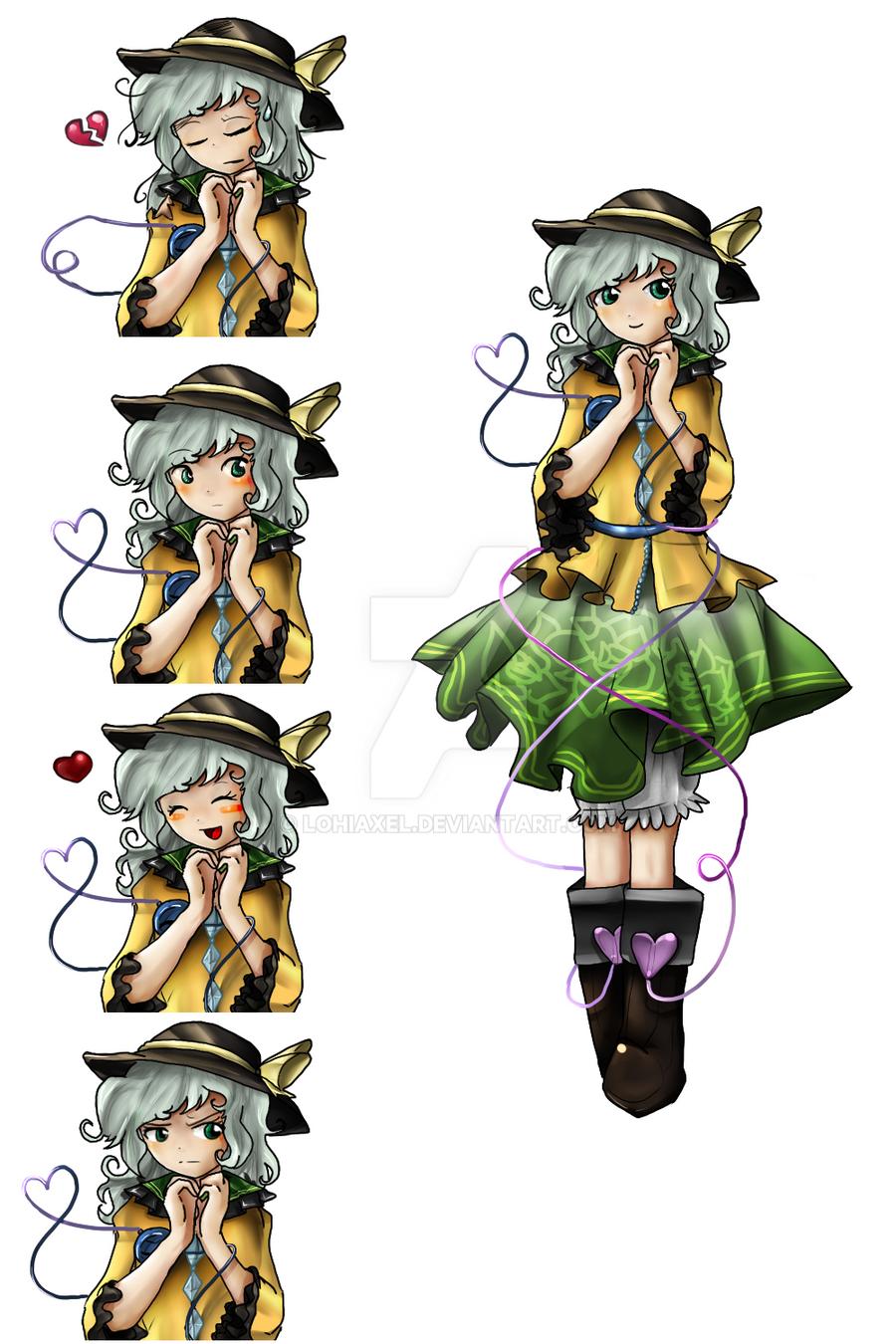 Koishi Character Sheet by LohiAxel
