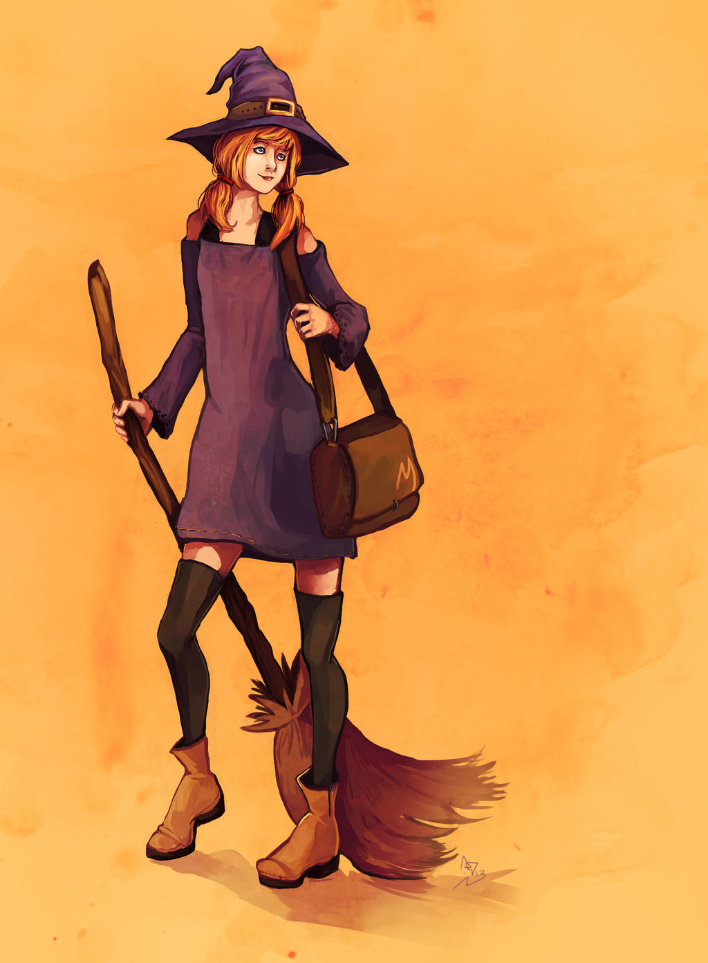 WL. Witch by LohiAxel
