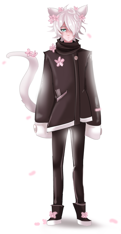 neko boy by powarm