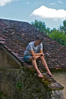 boy on the roof by marcusbeach