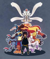 Pokemon Gym Leader D.Velu by Weelow