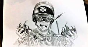 Thermite Drawing Rainbow Six Siege