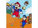 Super Mario Bros Art