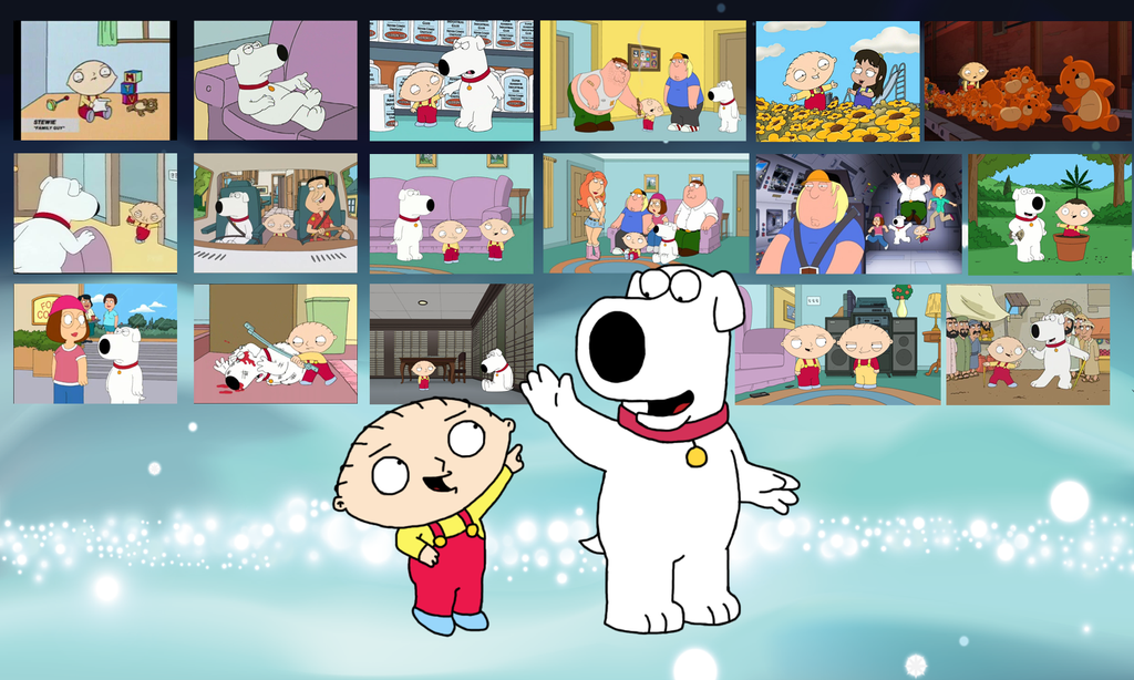 Stewie and brian wallpaper by mighty355 on deviantart - Family guy stewie background ...