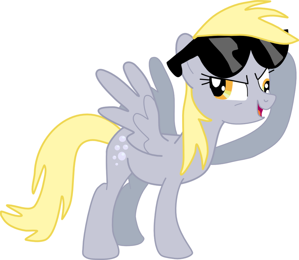 Derpy Hooves Can Be Cool by Mighty355