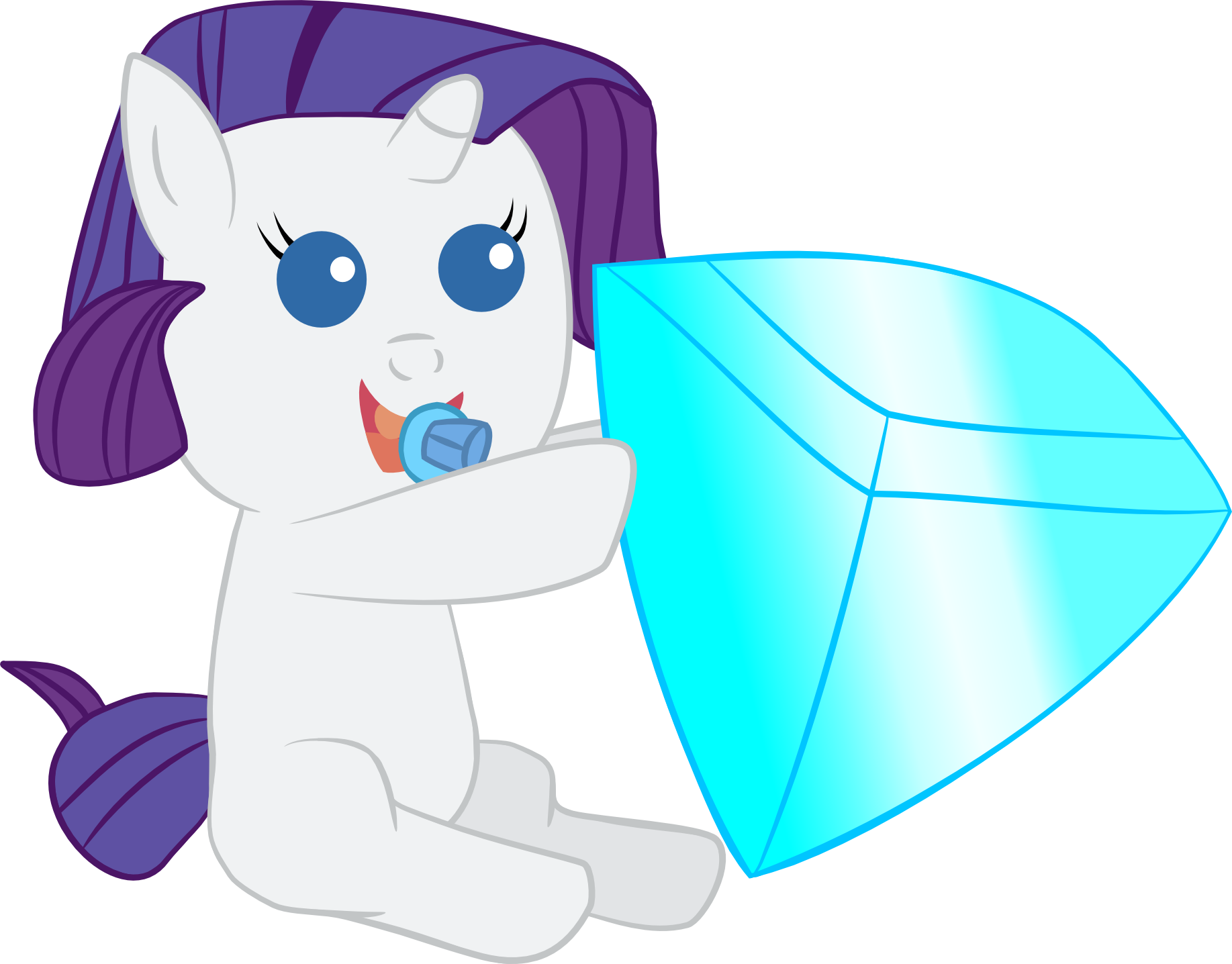 Baby My Little Pony Coloring Pages #5