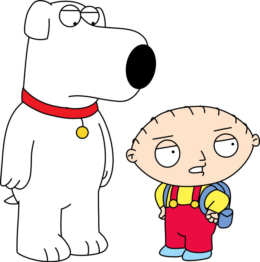stewie and brian in road to somewhere by mighty355 on