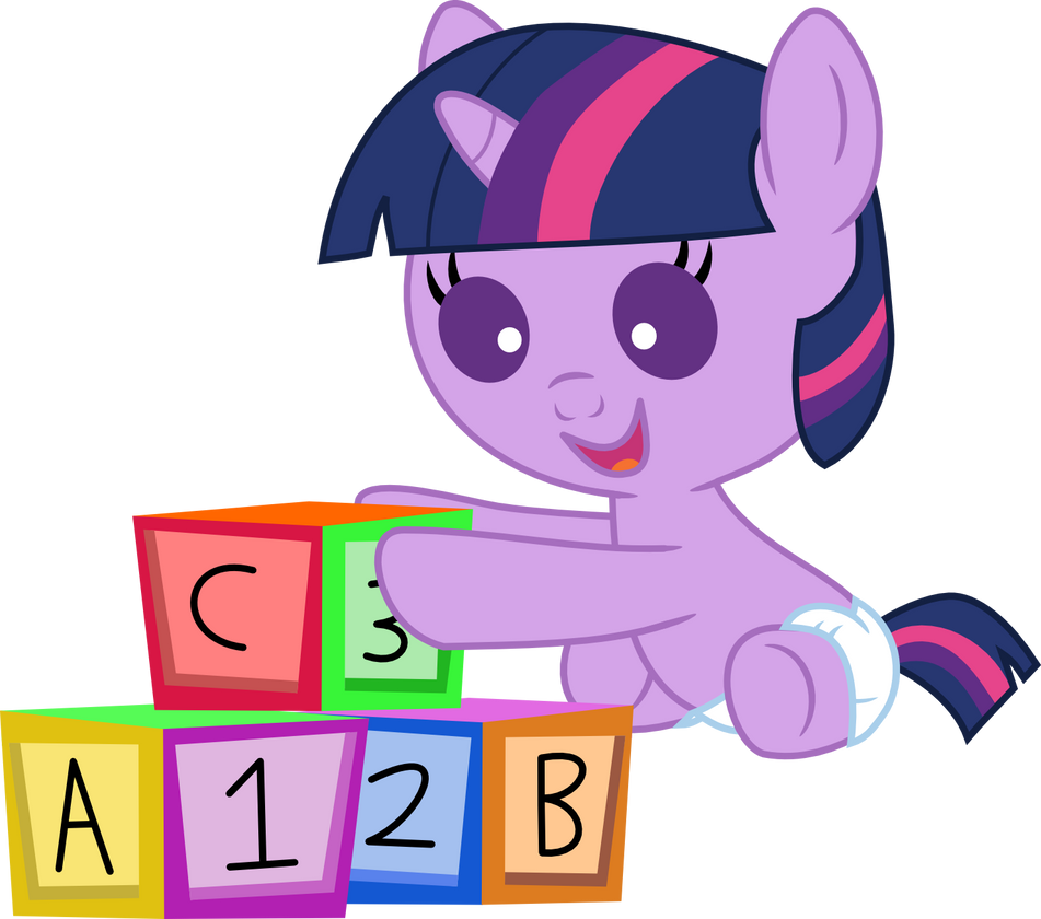 My little pony twilight sparkle baby