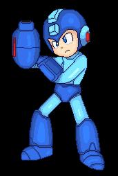 SSBN PixelArt 04 Megaman by Mighty355