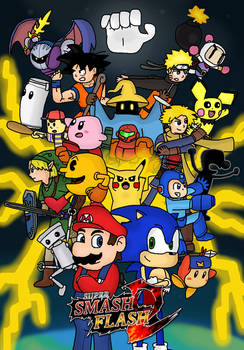Super Smash Flash 2 Cruel Smash