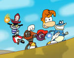 Rayman Battle Assault by Mighty355