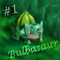 001 Bulbasaur by BlueHedgedarkAttack