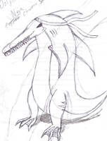 Dolphin Ninja Monster by BlueHedgedarkAttack