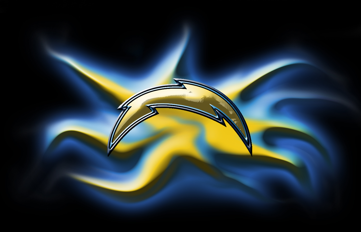 San Diego Los Angeles Chargers By Bluehedgedarkattack On