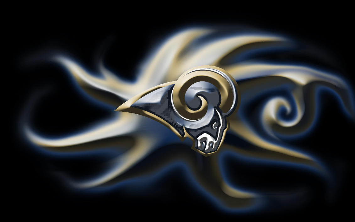 Saint Louis Los Angeles Rams By Bluehedgedarkattack On
