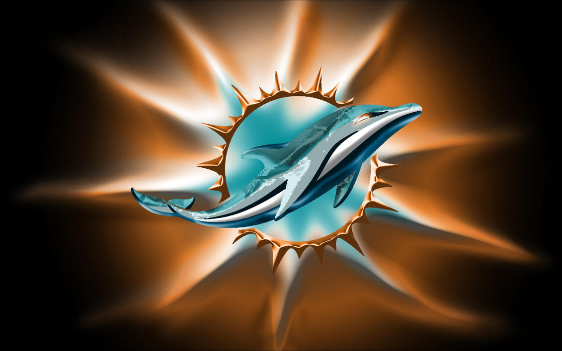 miami dolphins new logo by bluehedgedarkattack on deviantart