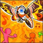 Oekaki: Dance Dance Mothra
