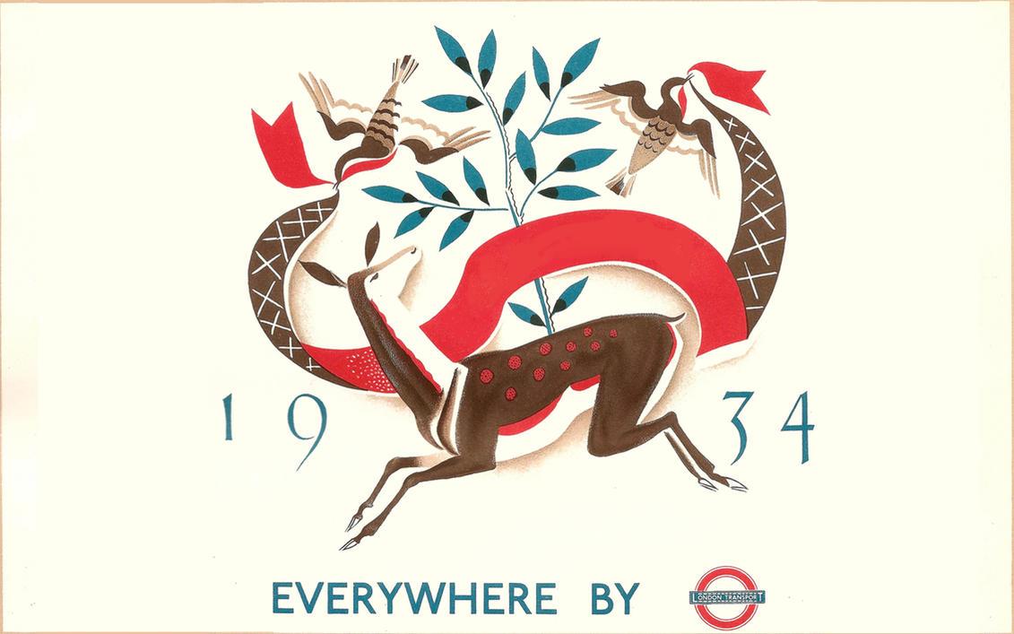 London Underground Poster by kiranmms