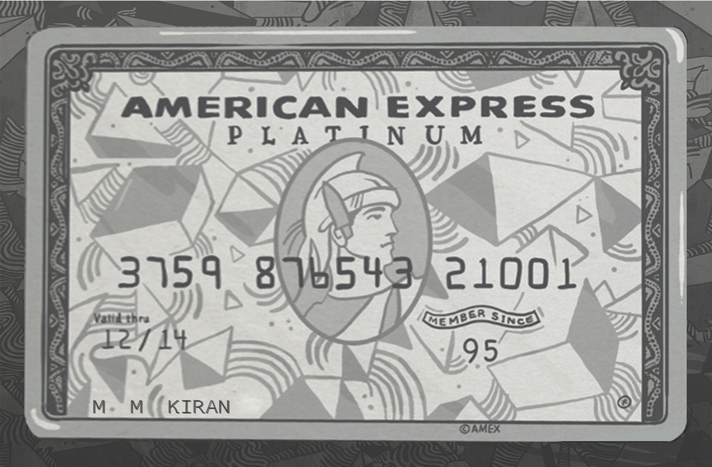 American Express Card by kiranmms