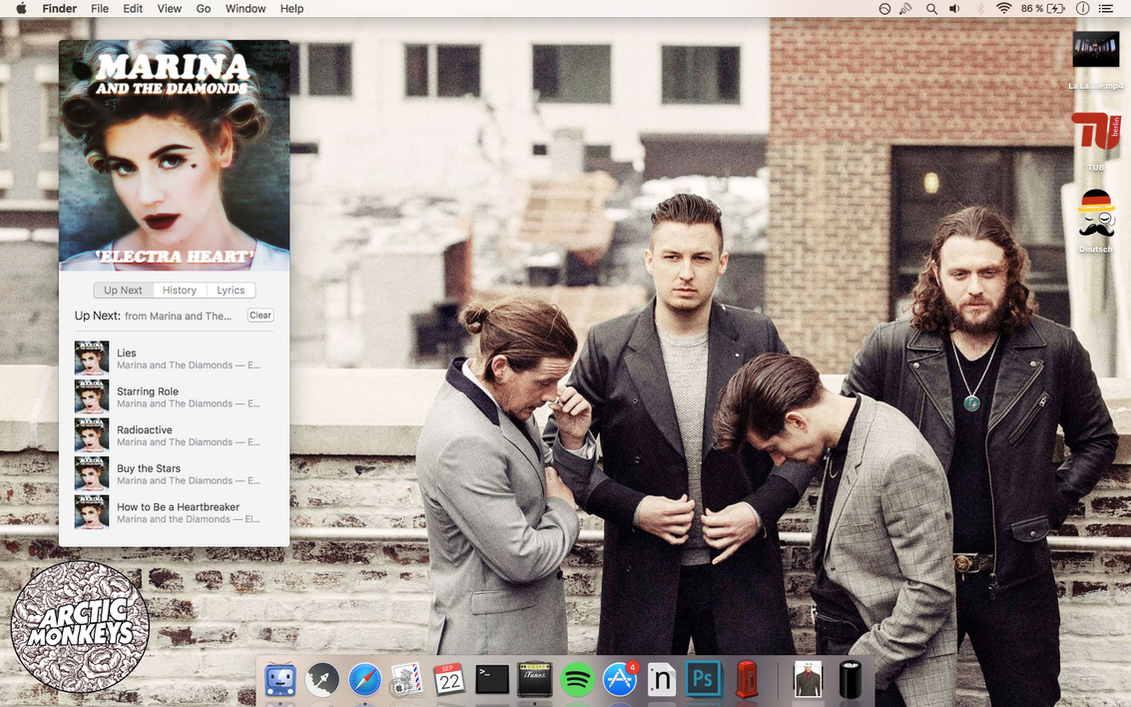 My Desktop-macOS Sierra by kiranmms
