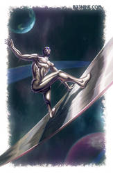 Silver Surfer by b-nine