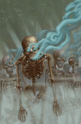 Gaseous Skeleton
