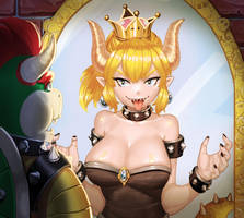 Bowsette by AssassinASM