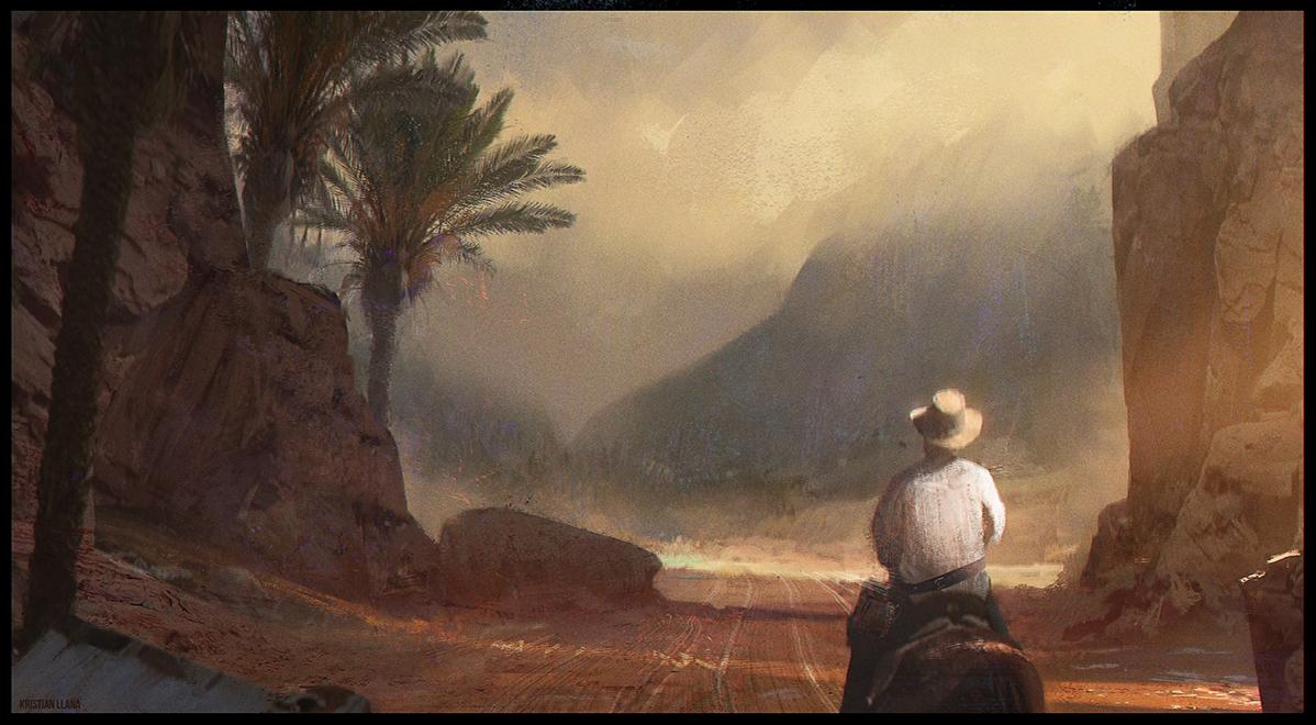 Through Valley by K-Melodyx