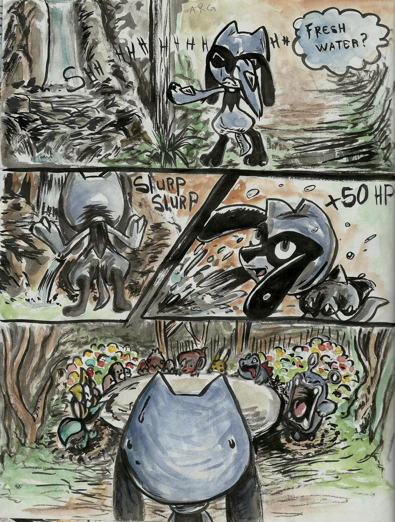 PMD webcomic page 19 +50 HP by payclo3