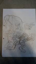 doodle by DevilAntRat