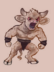 Minotaur Mudborn
