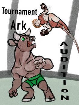 Tournament Ark Audition comics Cover