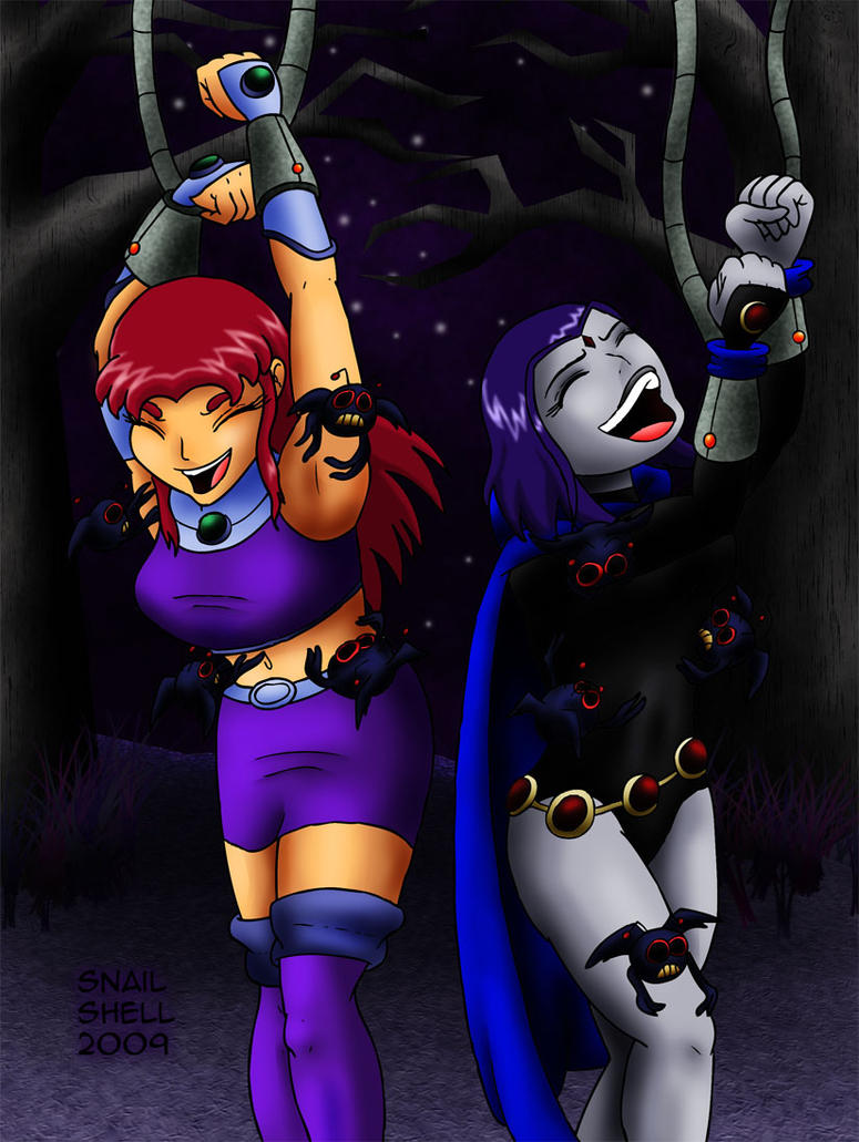 Raven And Starfire 2 By Snailshell On Deviantart-6617