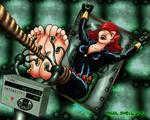Black Widow Interrogated
